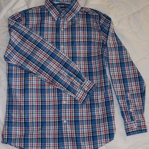 Men's Chaps Long Sleeve, Button Down, Medium